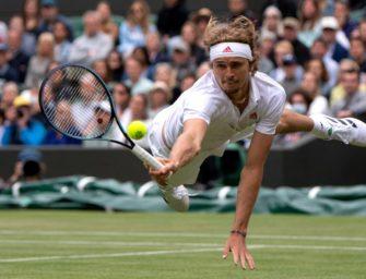 Zverev scheitert im Wimbledon-Achtelfinale an Auger-Aliassime