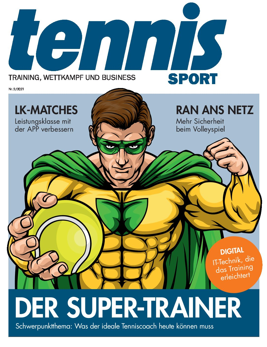 tennisSPORT 2/2021: Der Super-Trainer