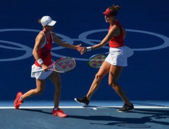 Tennis: Bencic verpasst goldenes Double