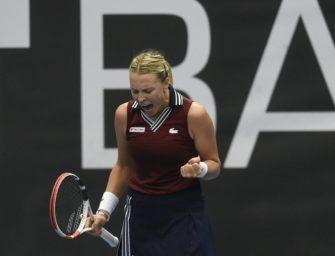 WTA: Kontaveit gewinnt Finale in Ostrau