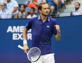 US Open: Medwedew im Finale gegen Djokovic oder Zverev