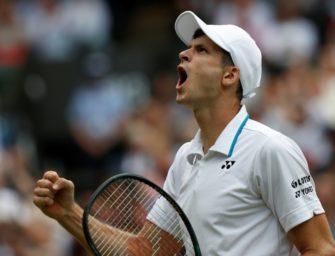 Hurkacz gewinnt ATP-Turnier in Metz
