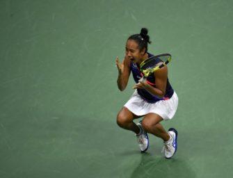 Sensationelle Fernandez im Finale der US Open