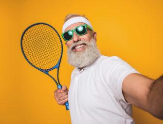 Tennis mit 70+: Gesund und fit bis ins hohe Alter