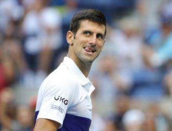 Djokovic nach hartem Stück Arbeit im Achtelfinale