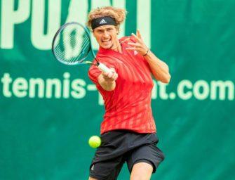 Zverev schlägt auch in kommenden Jahren in Halle auf