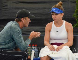 Ex-Wimbledonsiegerin Halep trennt sich von Trainer Cahill