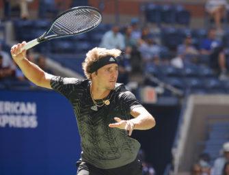 US Open: Zverev beeindruckt, Otte vor Chance seines Tennislebens