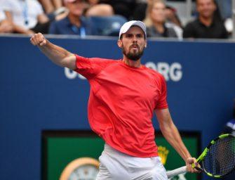 """Oscar Otte nach den US Open: """"Mir war nicht danach, einfach aufzugeben"""""""