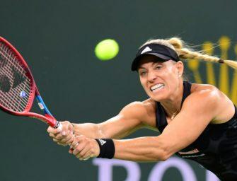 Aufholjagd zu spät: Kerber verpasst Halbfinale von Indian Wells
