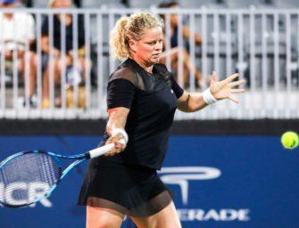 Wildcard in Indian Wells: Clijsters kämpft weiter um Comeback-Sieg