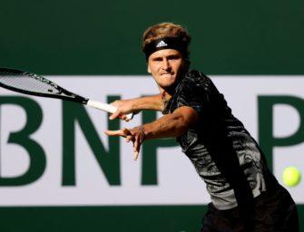 Indian Wells: Zverev nach Sieg für ATP Finals qualifiziert